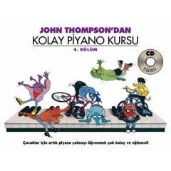 IMC John Thompson dan Kolay Piano Kursu 4
