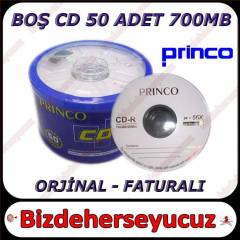 PRINCO CD-R (56X 700MB 80 min) 50'L� BULK