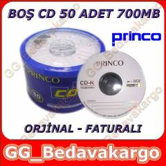 BO� CD 50 ADET 700 MB PR�NCO CD-R
