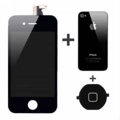 Apple iPhone 4 LCD Ekran + Arka Kapak, HomeTu�u
