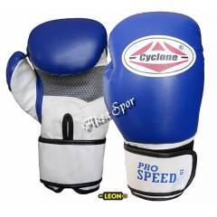 Cyclone Pro Speed Boks & Kick-Box Eldiveni Mavi