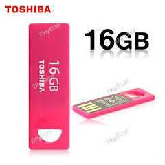 Toshiba  16GB mini USB Flash Bellek  PEMBE