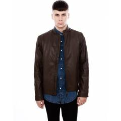 Pull And Bear Leather Deri Mont Kaban Ceket