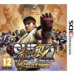 SUPER STREET FIGHTER 4 3DS OYUN SIFIR AMBALAJLI