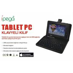 7'in� Klavyeli Tablet K�l�f�