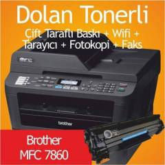 BROTHER MFC-7860 DOLAN TONERL� LASER YAZICI (1 S