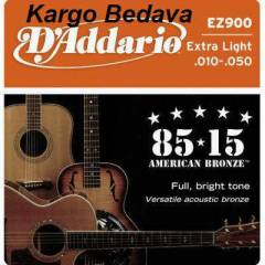 Daddario EZ900 Akustik Gitar Set Extra Light 010