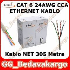 S-L�NK 305 METRE CAT6 ETHERNET KABLOSU