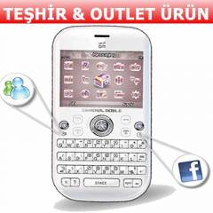 GENERAL MOBILE DST DIAMOND QWERTY TESHIRDEN