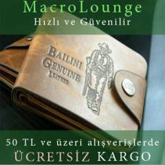 Bailini Erkek Deri C�zdan Leather Wallet Men