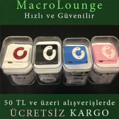 Mini MP3 Player �alar SD Destekli iPod Shuffle