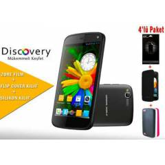 General Mobile Discovery 16gb Siyah K�l�f Paketi