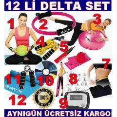 12 L� DELTA P�LATES SET� TOP BANT �EMBER EL YAYI
