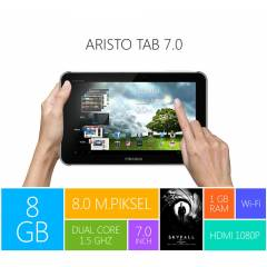 Piranha Aristo Tab 7' S�M KART G�R�� TABLET PC