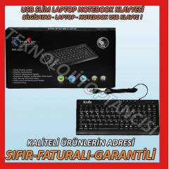 NOTEBOOK B�LG�SAYAR LAPTOP SL�M USB KLAVYES�