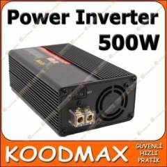 500W Power inverter USB ve Ara� �akmak