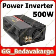 500W Power invert�r USB ve Ara� �akmak