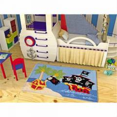 Confetti Pirate Ship 100X160 �ocuk Odas� Hal�s�