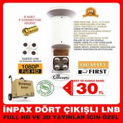 4 L� LNB �NPAX GOLD PERFORMANS LNB S� 30TL