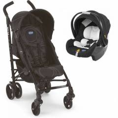 Chicco Lite Way Plus Travel Set Siyah