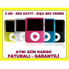 2 GB MP4 MP3 �ALAR MP 3 MP 3 PLAYER �ARJLI V51