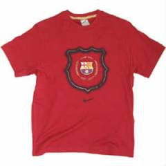 Nike  BARCELONA DARK RED TShirt  (S)