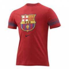 Nike GRAPHiC BARCELONA DARK RED TShirt  (S)