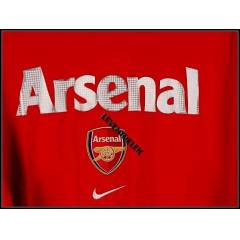 Nike ARSENAL SILVER RED GRAPHIC TSHIRT (S)