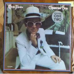 ELTON JOHN - GREATEST HITS  LP PLAK