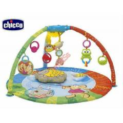 CHICCO BUBBLE GYM MUZ�KL� BEBEK OYUN HALISI