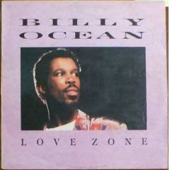 BILLY OCEAN - LOVE ZONE LP PLAK