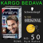 SCHWARZKOPF MEN PERFECT | 50 A�IK KAHVE JEL BOYA