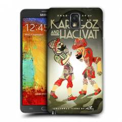 GALAXY NOTE 3 KARAG�Z HAC�VAT RES�ML�  KILIF