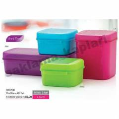 TUPPERWARE  �ZEL KARE 4'L� SET