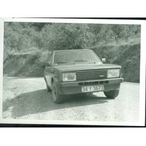 1988 TOFA� DO�AN OTOMOB�L 2 ADET FOTO�RAF