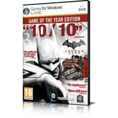 PC BATMAN ARKHAM CITY GOTY STEAM CD KEY HMN TSLM