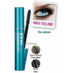 AVON SUPERSHOCK MAX MASKARA (R�MEL)10 ML