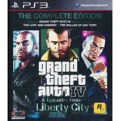 PS3 GTA 4 Grand Theft Auto 4 The Complete Editon