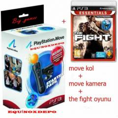 Playstation 3 Move Pack+THE FIGHT OYUNU PS3