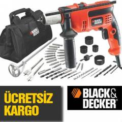 BLACK & DECKER DARBEL� MATKAP + 40 PAR�A SET