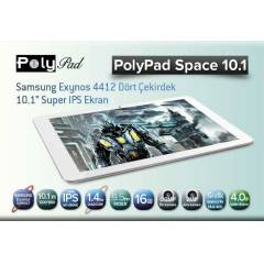 "Polypad Space 10.1"" 16GB Android PC TABLET"