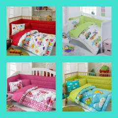 COTTON BOX  RANFORCE BEBEK UYKU SET�_YEN� SEZON_