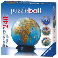 RAVENSBURGER PUZZLEBALL 3D RES�ML� D�NYA 240 P�