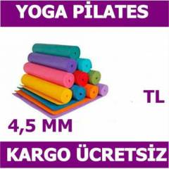 P�LATES M�NDER� YOGA MAT KALINLIGI 4.5 MM FIRSAT