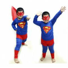 SUPERMAN KOST�M SMALL BEDEN �ZEL �R�N