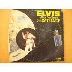 LP-ELVIS PRESLEY-ALOHA FROM HAWAII-ÇİFT LP