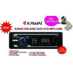 KAWA� KW-2500 DVD-CD-USB-MMC PLAYER OTO TEYP