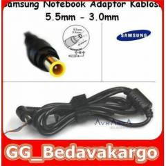 Samsung Notebook Adapt�r Kablosu 5.5mm-3.0mm