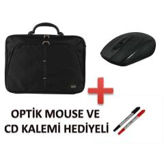 "15.6"" S�YAH NOTEBOOK �ANTASI+NOTEBOOK SO�UTUCU"