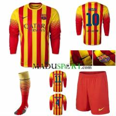 Barcelona Orj. 2014 Away UK Forma �ort Tozluk